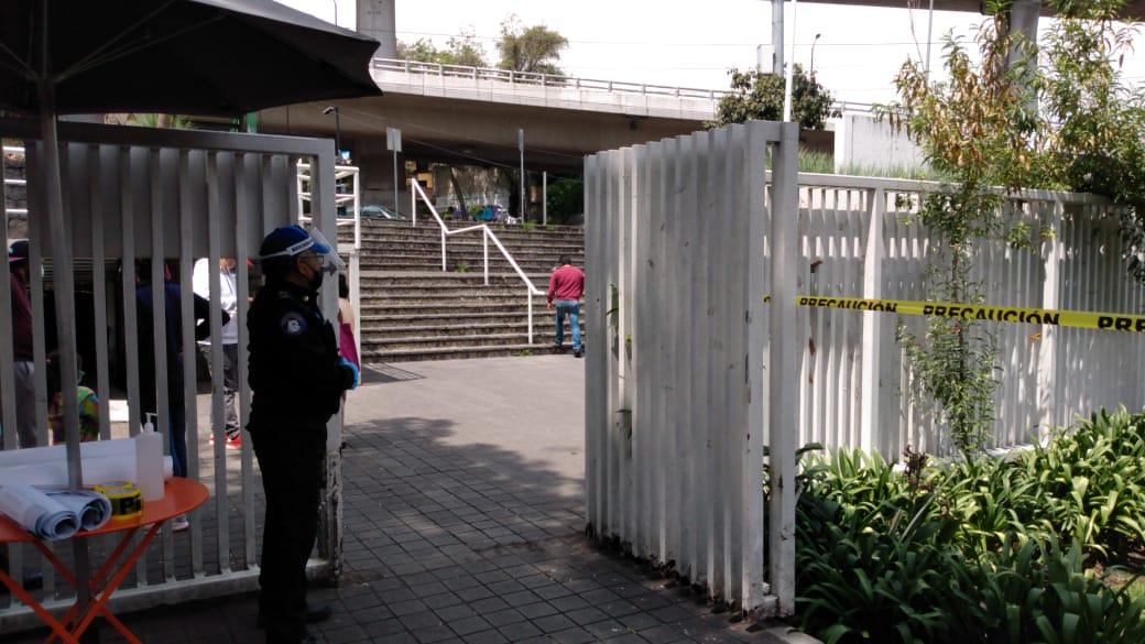 Reabren deportivos, no se permiten partidos de futbol y básquetbol en La Magdalena Contreras